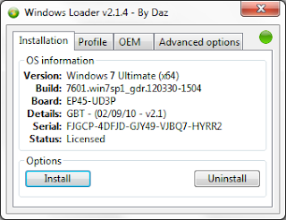 Windows 7 Loader v2.1.4