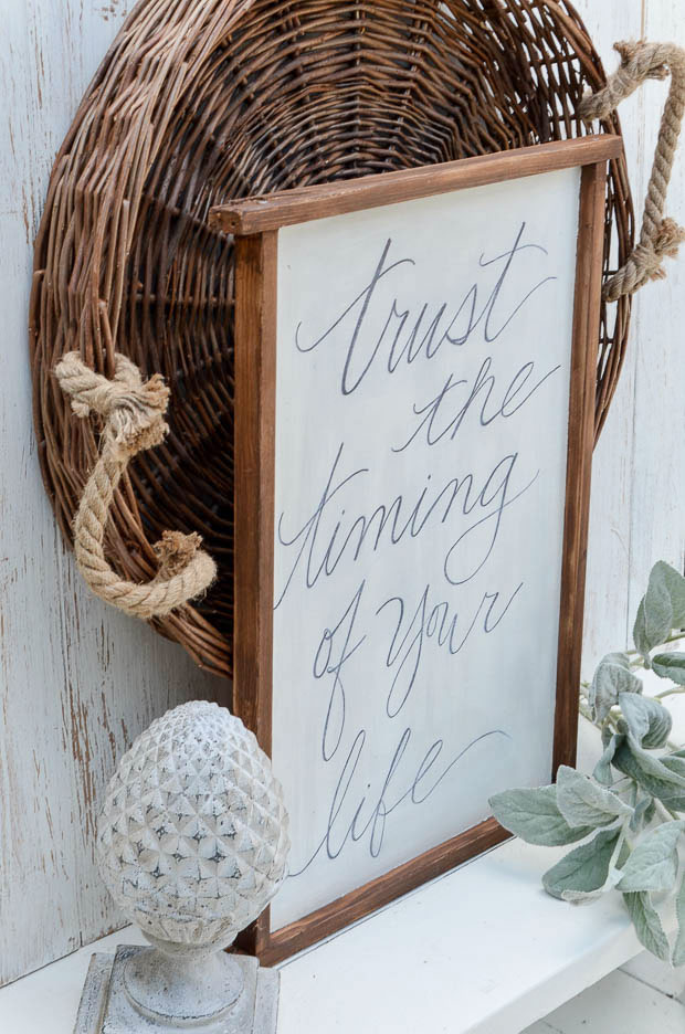 Decorate with your favorite quote on the wall.