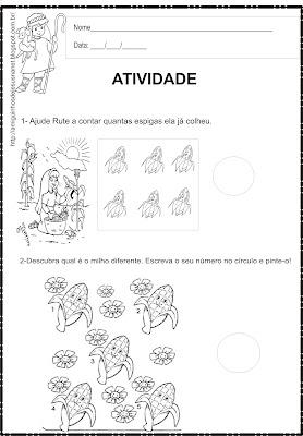 Atividade de Matemática - Rute