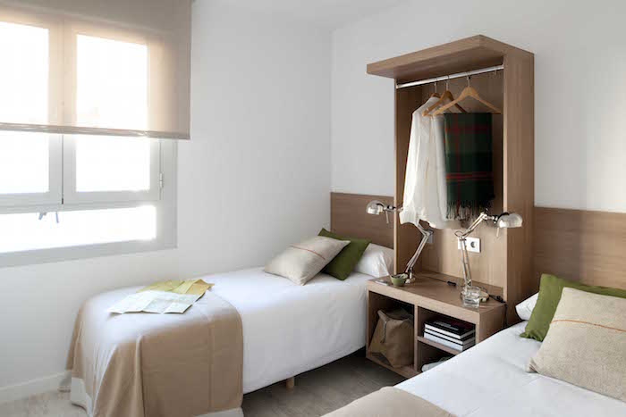Dormitorio para dos Eric Vökel