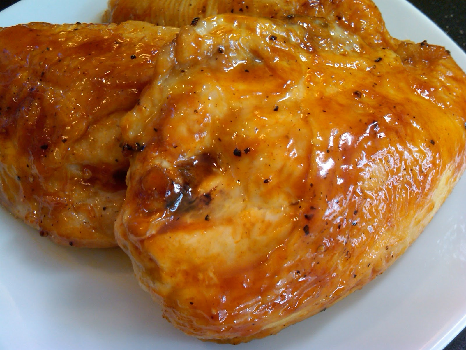 honey glazed chicken 1 2 cup honey 1 4 cup