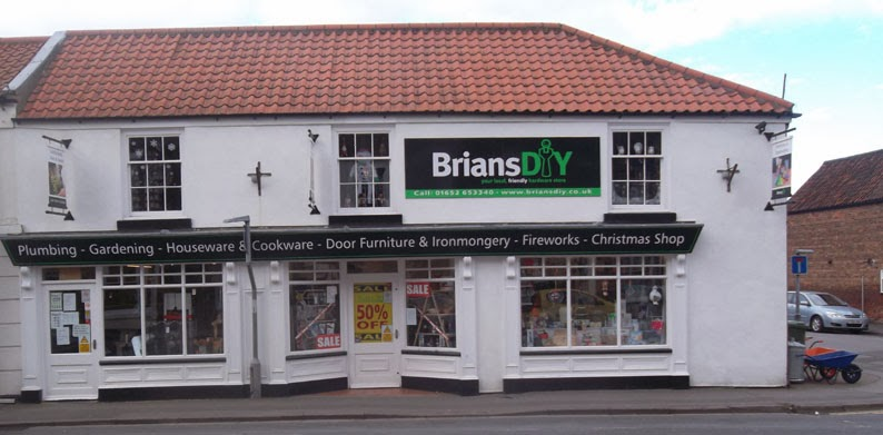 Brians DIY store in Wrawby Street - Nigel Fisher's Brigg Blog