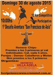 1º AVENTURA SAN FRANCISCO DE ASÍS
