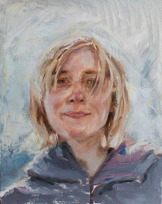 Portrat of Ineke Kamps by Erik van Elven