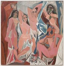 Picasso - Las Señoritas de Avignon (1907)