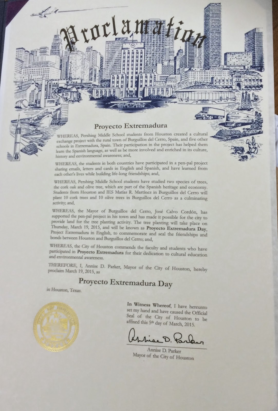 Fancy Mayoral Proclamation Template Mold - Resume Ideas - namanasa.com