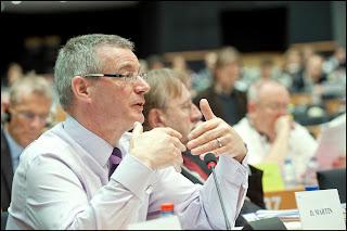 David Martin, durante el debate sobre ACTA Blog zirigoza.eu
