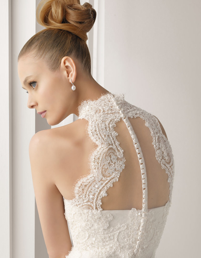 Photos Of Lace Wedding Gowns : Lace back wedding dresses part belle the magazine
