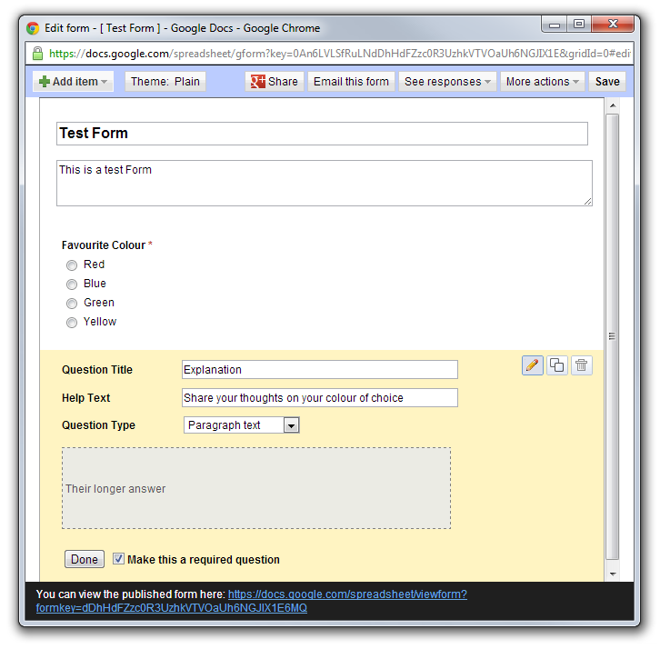 how to set up google drive for script writing