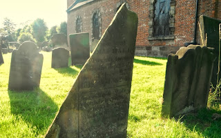 Headstone at Marchington Church