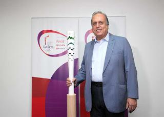 Rio 2016: tocha olímpica chega ao Palácio Guanabara