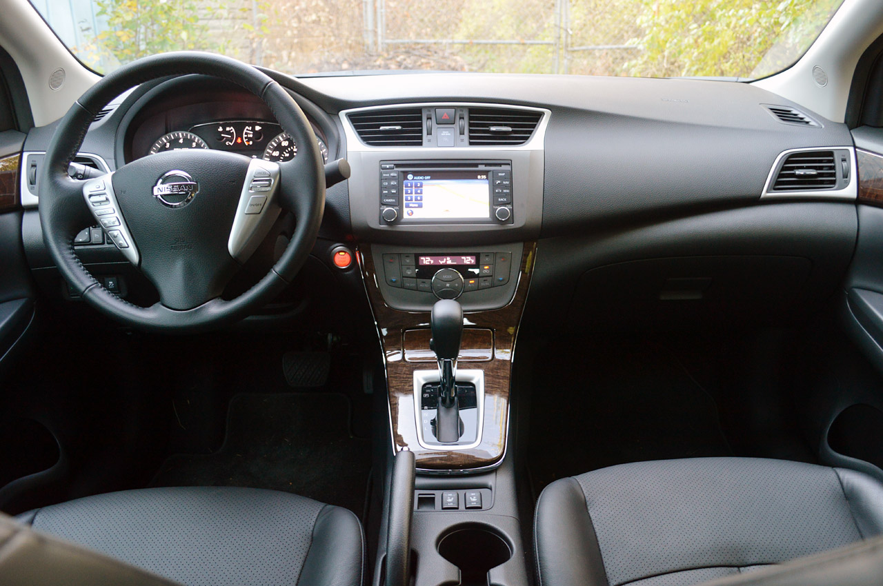 2013 Nissan Sentra Inside View