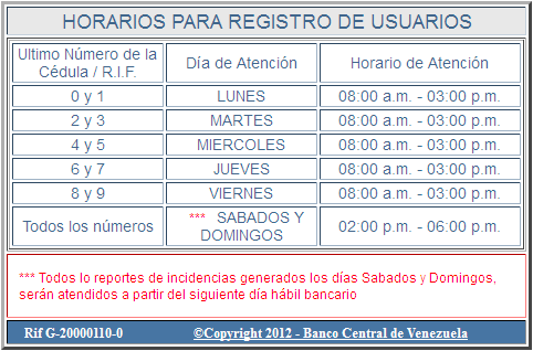 El sitme requisitos para solicitar sitme for Numero del banco exterior
