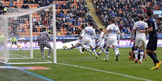 Video Gol Inter Milan vs Sampdoria 1 Desember 2013