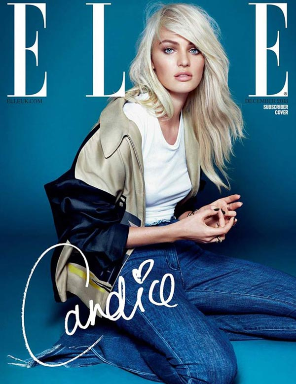 elle uk december 2013 cover