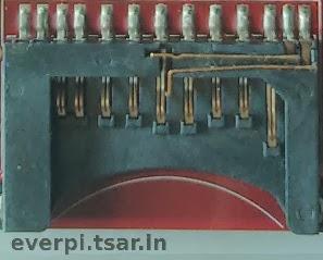 Slot do cartão SD