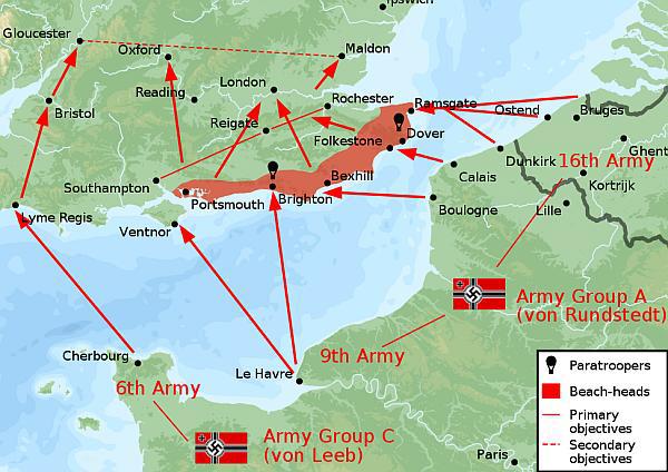 План операции «Морской лев».