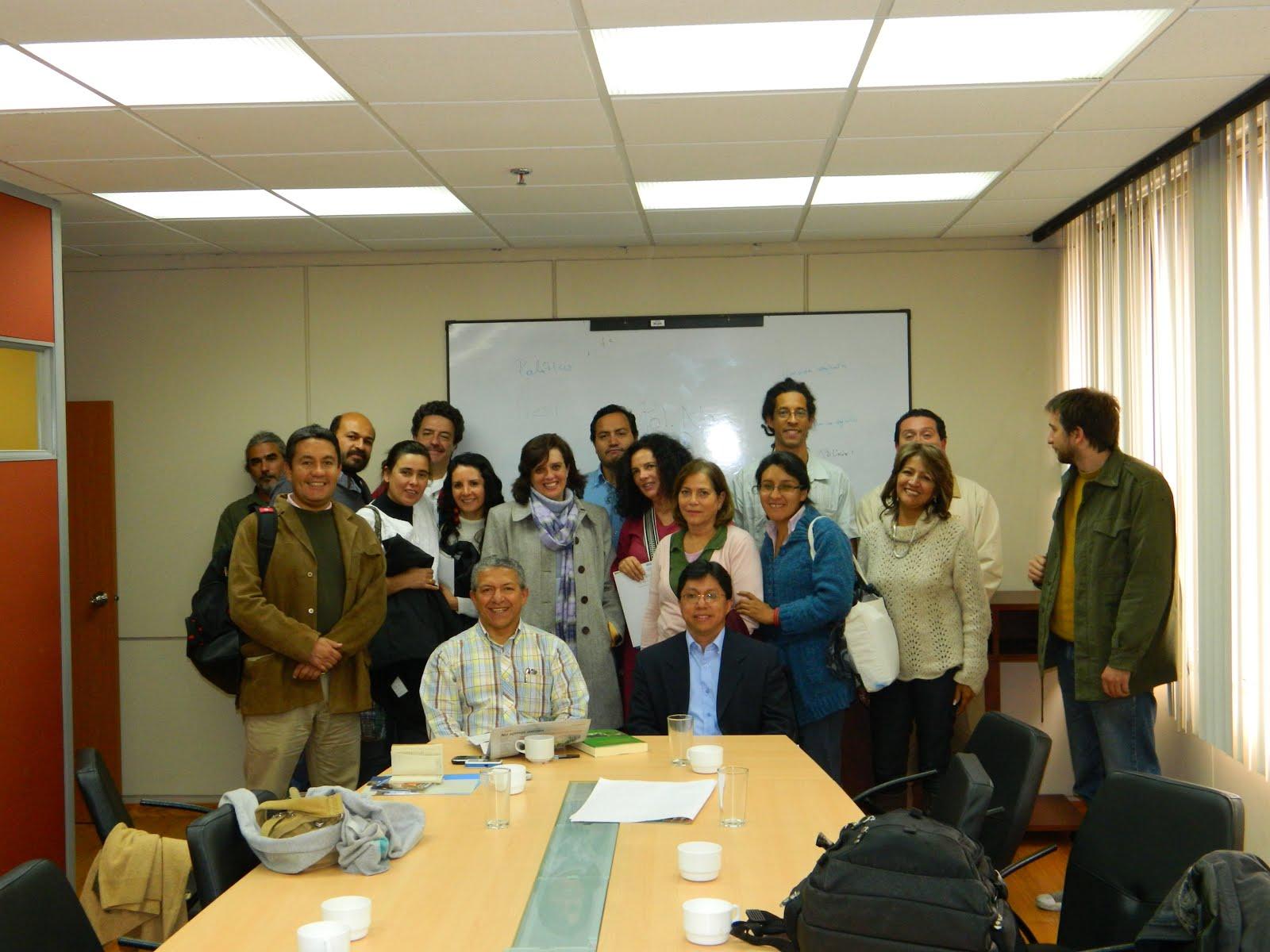 En visita del GT Desarrollo Rural de CLACSO al Parlamento Ecuatoriano