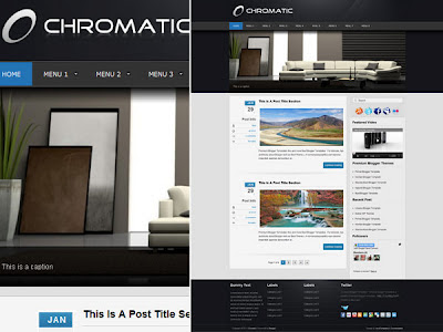 Download Chromatic Blogger Template