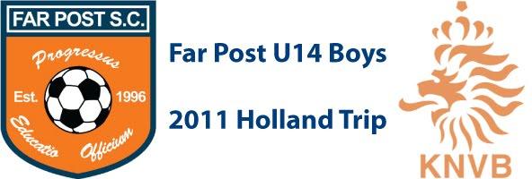 Far Post U14 Boys - 2011 Holland Trip