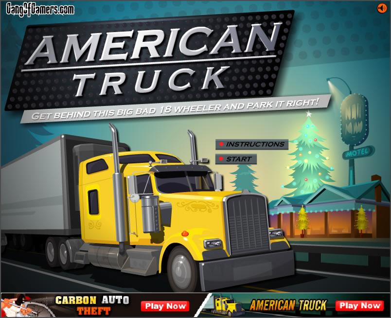 Truck Game : American Truck