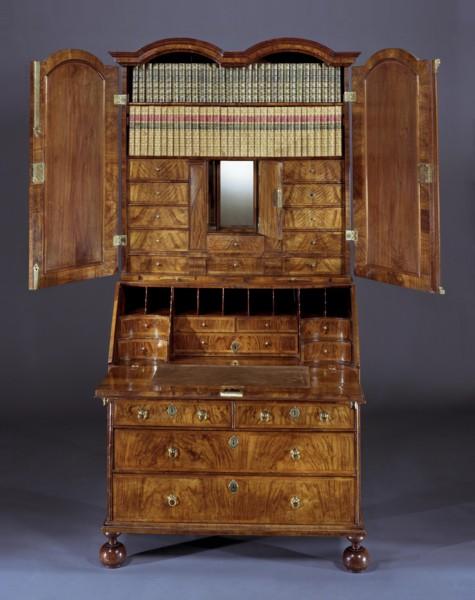 George I Bureau Cabinet