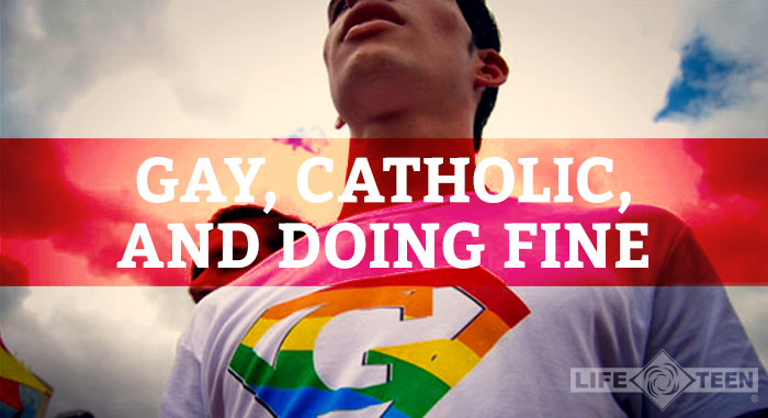 Catholic men courage gay