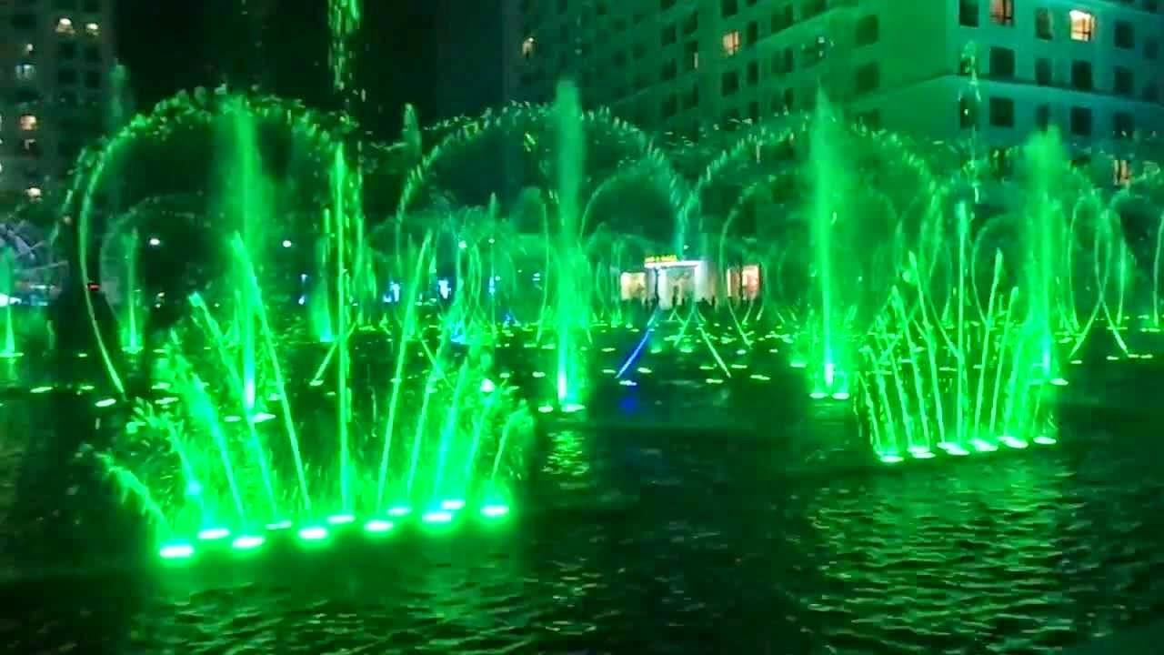 Nhạc nước khu quảng trường Times City