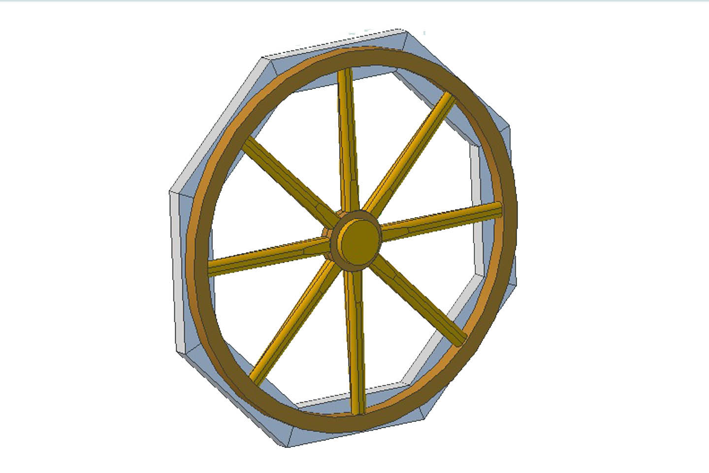 Wagon Wheel Woodworking Plans