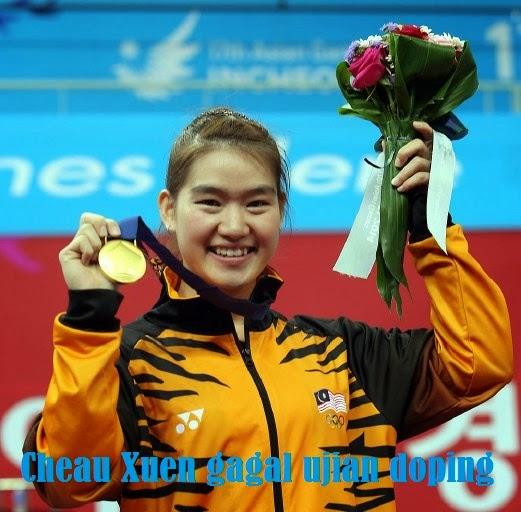 Berita sedih untuk Malaysia pingat emas atlet wushu di tarik balik