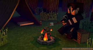 The Camping Mod para Minecraft 1.7.2/1.7.10/1.8