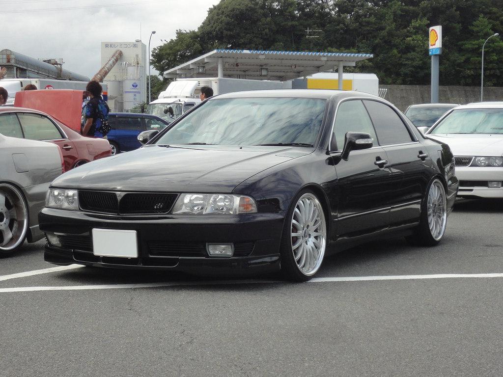 Mitsubishi Diamante II, japoński samochód, sedan, JDM, tuning