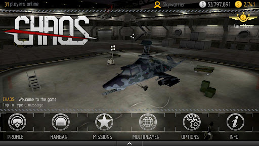 C.H.A.O.S game for Android