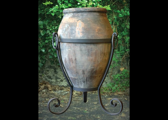 Ferro battuto in giardino i vasi in ferro battuto - Ferro battuto porta ...