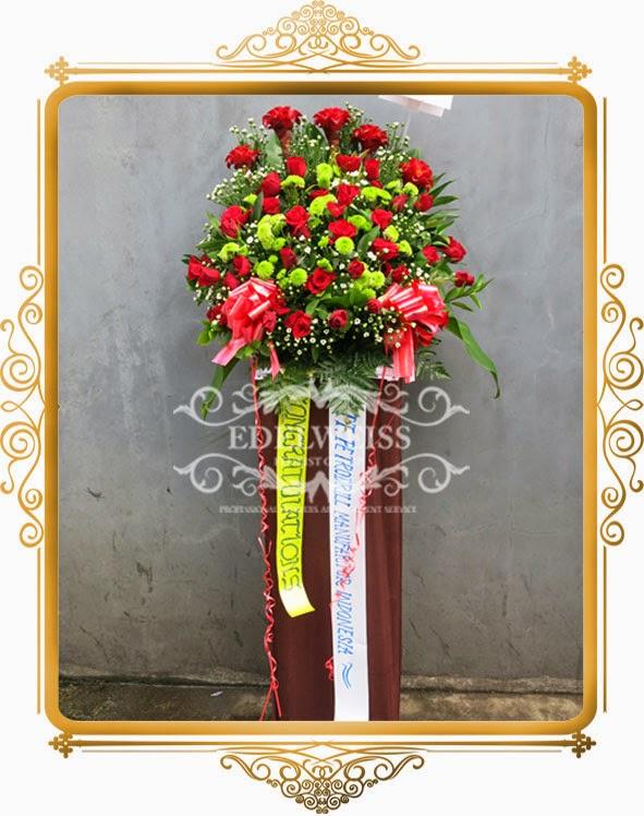 standing flowers bagus & elegant