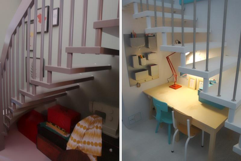 Keuken Onder Trap : Interiur huis keuken: een verrassing: twee onder een kap bij 101