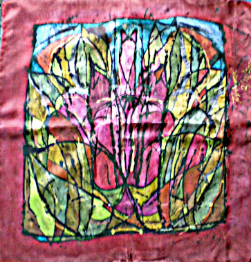 "The lily (22"" X 22"") 24/10/2010"