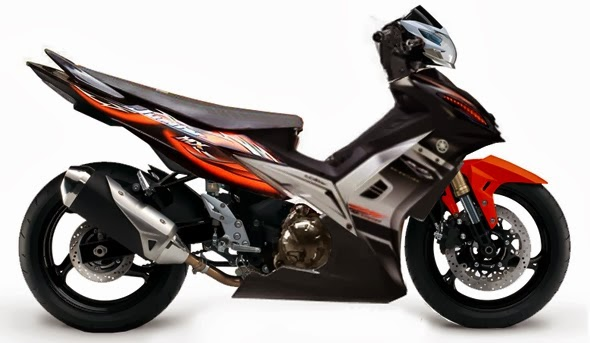 Spesfikasi Dan Modifikasi Motor Yamaha Jupiter MX 2014 title=
