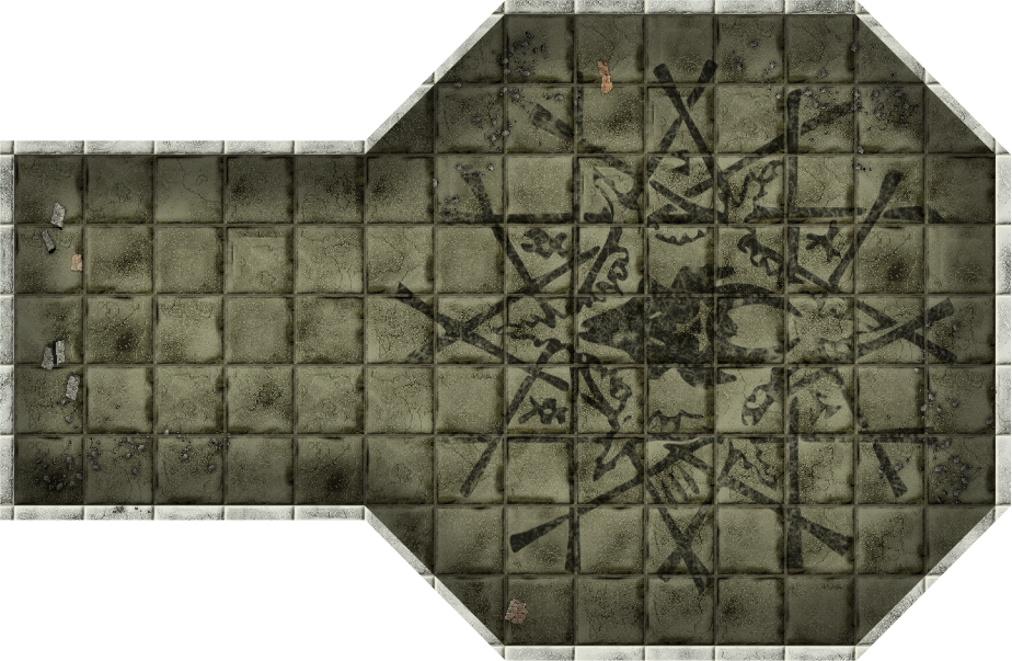 image about Printable Dungeon Tiles Pdf known as Elevated - State-of-the-art HEROQUEST: Dungeon Tiles RESIZED
