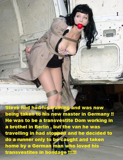 forced transvestite photo