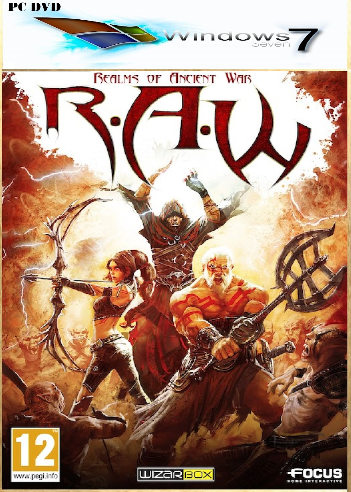 survive the realms of ancient war take control of a fearsome warrior