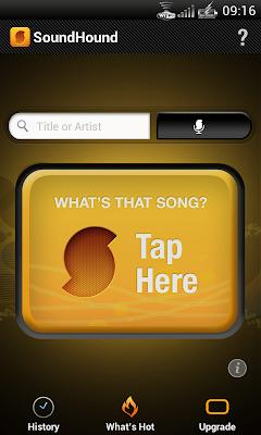 Cari Judul Lagu SoundHound for android