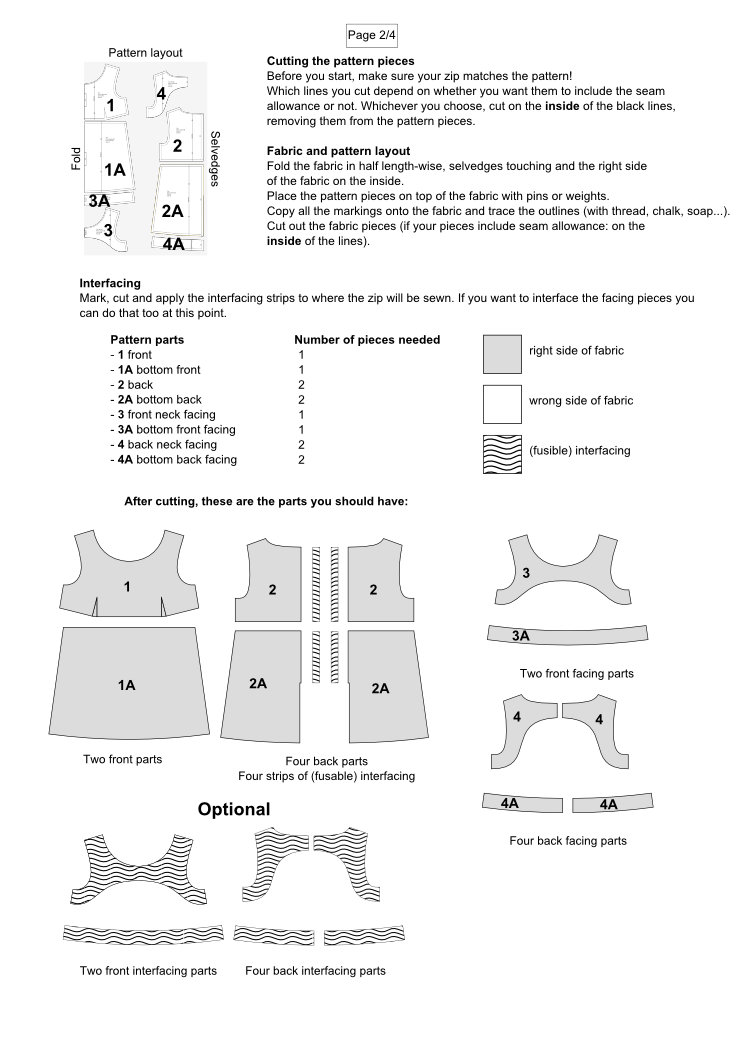 imaginesque free sewing patterns