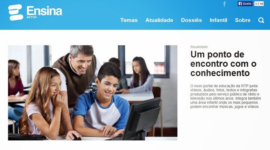 Portal Ensina - RTP
