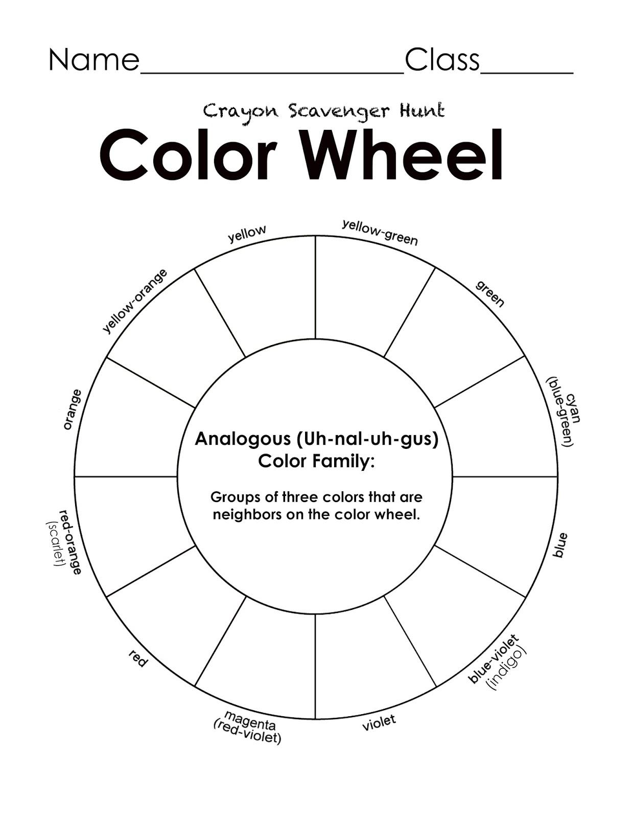 worksheet. Color Wheel Worksheet. Grass Fedjp Worksheet Study Site
