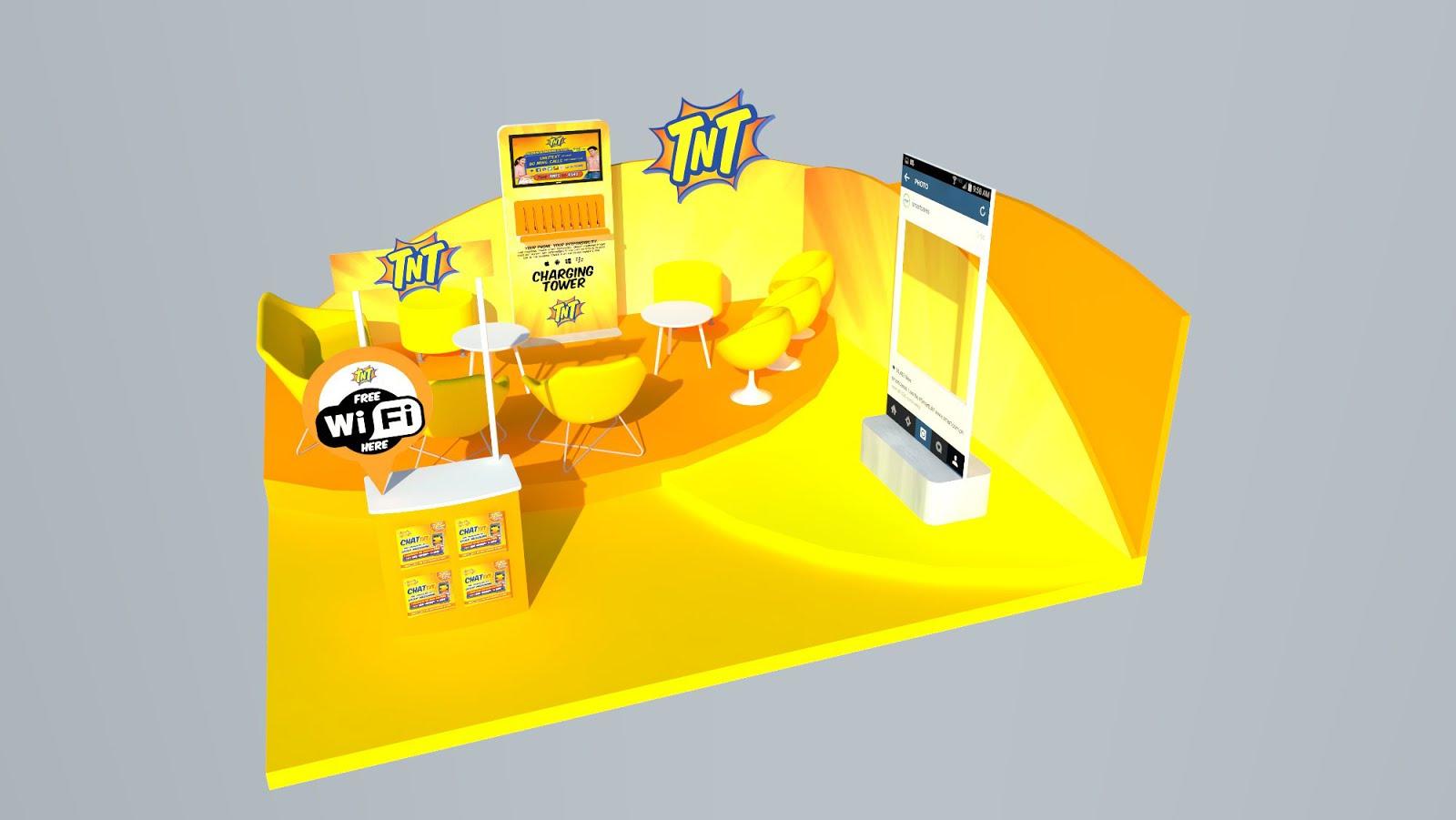 my portfolio  mall activation booth setup