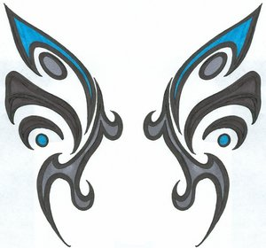 afrenchieforyourthoughts: butterfly tattoos designs part-12