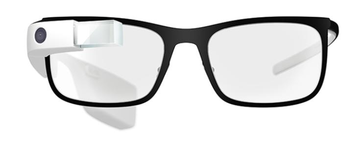 Montura para graduar y poder usar con las Google Glass.