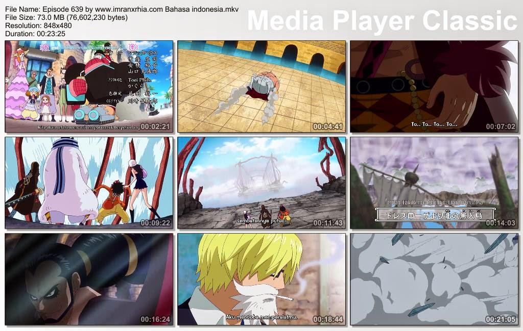 Download Film One Piece Episode 639 (Serangan Ikan Petarung! Menyeberangi Jembatan Besi Kematian!) Bahasa Indonesia