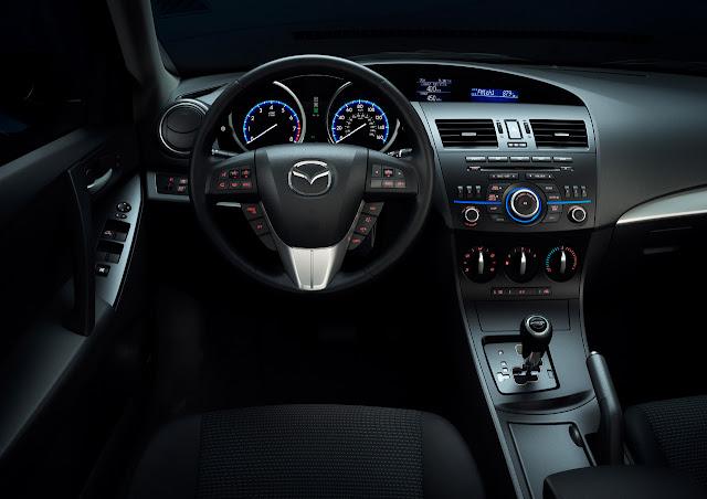 Mazda 3 ấn tượng mạnh mẽ đậm chất thể thao, mazda 3 dong xe moi nhat hien nay, noi that ben trong mazda 3